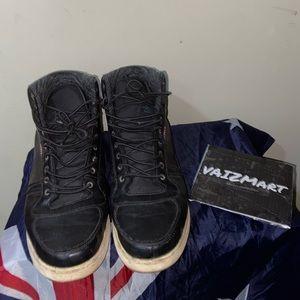 Levi Strauss men's high top sneakers navy blue